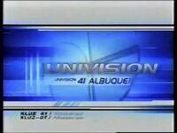 Kluz univision 41 albuquerque id 2003