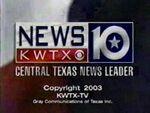 KWTX News 10 2003 Close