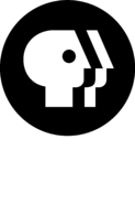 PBS (Alternative Vertical White Text)