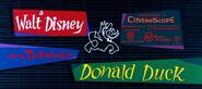 A Walt Disney Donald Duck (CinemaScope Variant)