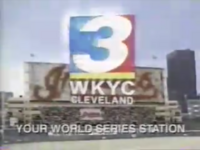 WKYC Cleveland Indians World Series 1997