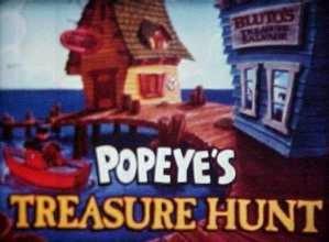 Popeye's Treasure Hunt