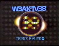WBAK Station ID 1981