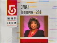 WCVB-TV 5 Oprah Winfrey Show promo March 1992