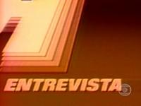 Jornal Hoje Entrevista 1986