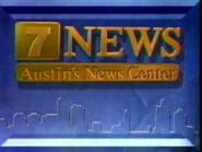 KTBC Channel 7 News at Noon 1993 Open