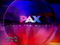 PAX TV 2001