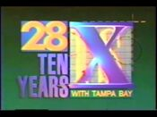WFTS 10 Year Anniversary ID 1991