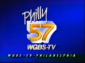 WGBS-TV Philly 57 1987 Station ID