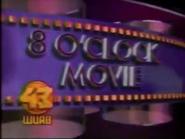 WUAB Channel 43 8'O Clock Movie 1989 b