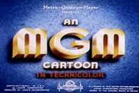 Title Card for a MGM Cartoon Studio Short