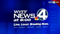WYFF-TV's WYFF News 4 At 6 Video Open From Monday Evening, April 23, 2012