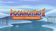 Pocahontas II Journey to a New World Title Card