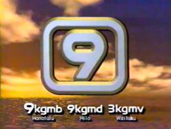 KGMB (1987) logo