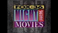 WATL FOX 36 Night at The Movies Bumper from 1992