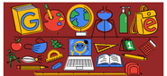 Google 1st Day of School doodle (Philippines, 2020)