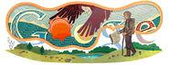 Google Elias Lönnrot's 210th Birthday