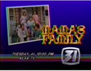 KLAX-TV Mama's Family Promo