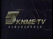 5 knme tv albuquerque ident 1989