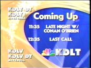 KDLT Coming Up bumper slide (2005)