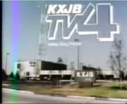 KXJB-TV Studios 1985