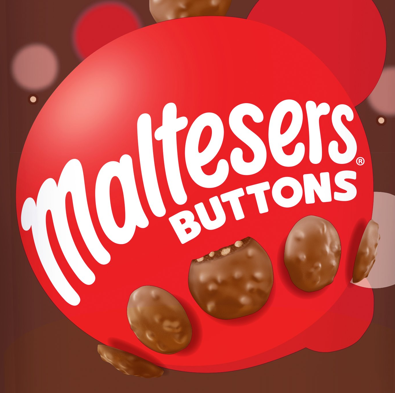 Maltesers Buttons