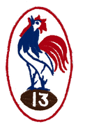 France Rugby League 1950s logo