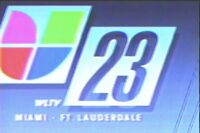 Wltv univision 23 opening 1992