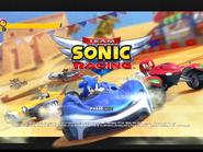 Team Sonic Racing title screen