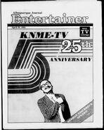 5 knme tv 25th anniversary 1983