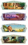 Google Nizar Qabbani's 93rd birthday (Storyboards 1)
