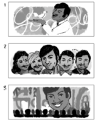 Google Rajkumar's 88th Birthday (Storyboards)
