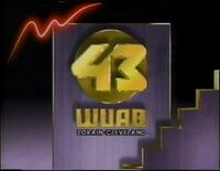 WUAB 43 1988-1990