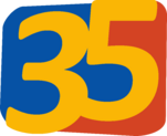 Azteca 35 2008 primer logo