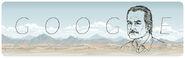 Google Carlos Fuentes' 85th Birthday
