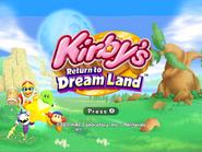KRTDL Title Screen 4x3 Green Kirby