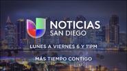 Kbnt noticias univision san diego 6pm 11pm mas tiempo contigo promo 2019