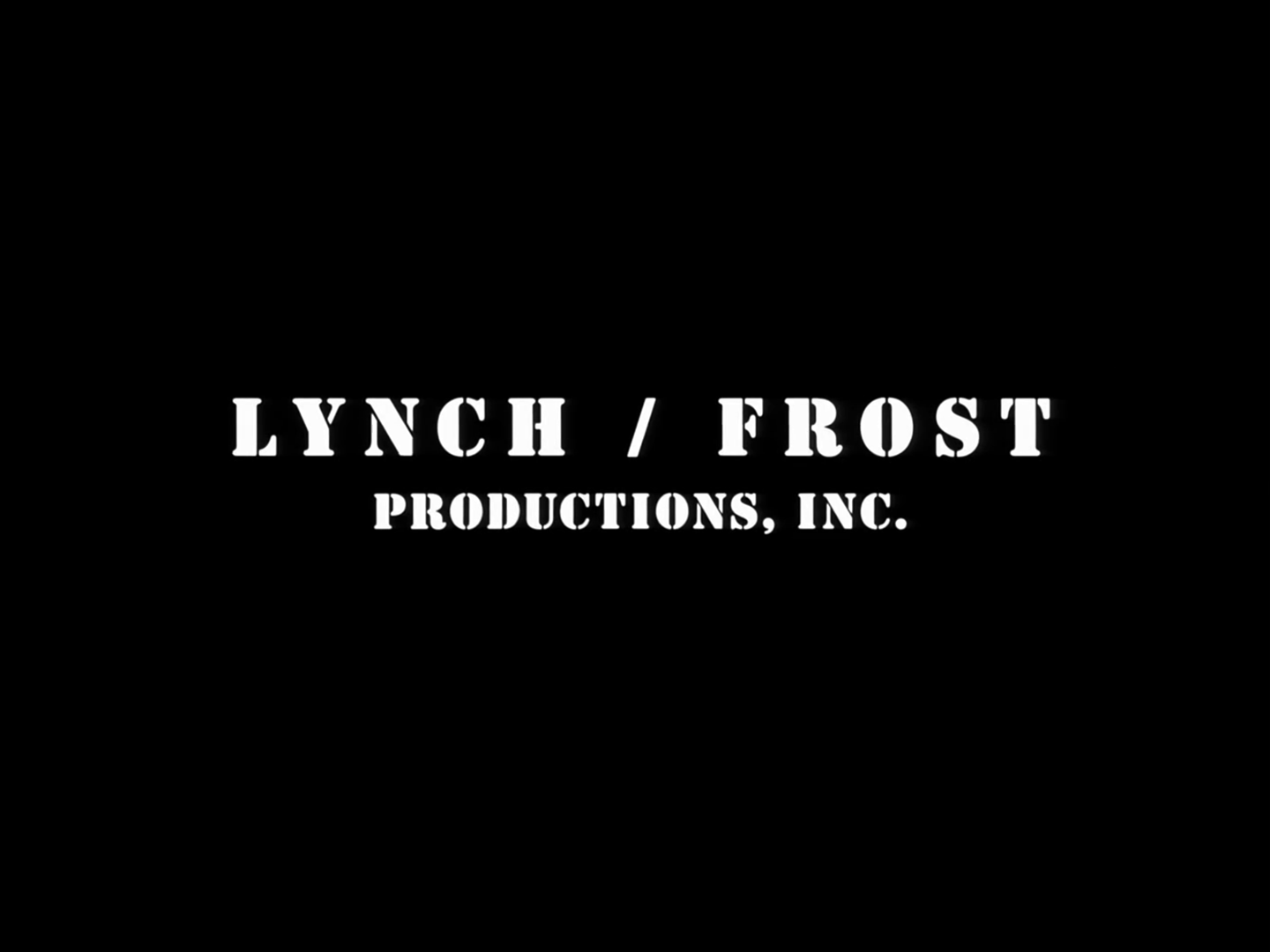 Lynch/Frost Productions
