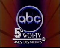 WOI Station ID image 1985-1986