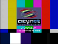 Citynet Television Channel 27 Test Card