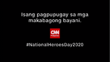 CNN Philippines National Heroes Day (2020)