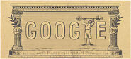 Google 120th Anniversary of First Modern Olympic Games (Version 2)