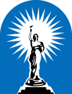 Columbia Pictures 1981 blue logo symbol