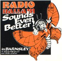 Hallam, Radio Barnsley 1986.png