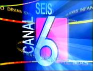 Ident Canal 6 (El Salvador) - 1997 (2)