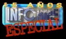 Informe especial 1998 15 años