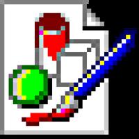 Microsoft Paint Logo (1995-1998) (Alternative)