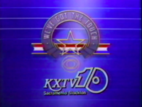 KXTV CBS We've Got The Touch 1985