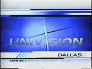 Kuvn univision dallas 5pm opening 2001