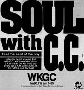 WKGC - 1988 - Soul with C.C. -September 22, 1989-